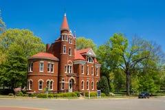 密西西比大学的Ventress霍尔 图库摄影