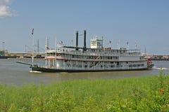 密西西比河船 免版税库存图片