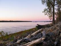 密西西比河,孟菲斯, TN 免版税库存图片
