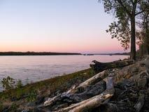 密西西比河,孟菲斯, TN 图库摄影