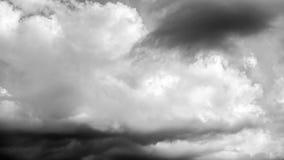 密集的云彩时间间隔 股票录像