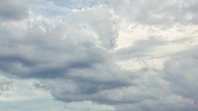 密集的暴风云时间间隔 股票录像