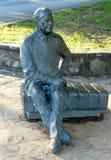 富兰克林・德拉诺・罗斯福乔治亚总统雕塑 免版税库存图片