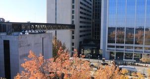 富兰克林县法院大楼看法在哥伦布,俄亥俄4K 股票视频