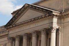 富兰克林学院在费城 免版税库存照片