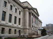 富兰克林学院科技馆,费城,美国 图库摄影
