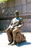 富兰克林・德拉诺・罗斯福纪念品华盛顿 库存照片