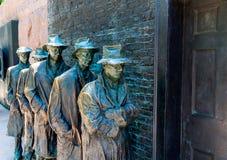 富兰克林・德拉诺・罗斯福纪念品华盛顿 库存图片