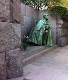 富兰克林・德拉诺・罗斯福(FDR)纪念碑,华盛顿特区,美国 免版税库存照片