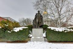 富兰克林・皮尔斯纪念碑 库存照片