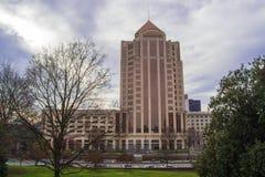富国银行塔大厦,罗阿诺克,弗吉尼亚,美国 库存照片