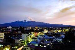 富士圣,日本 免版税库存图片
