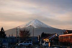 富士山'富士圣' 库存照片