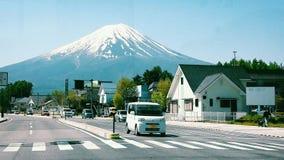 富士山世界遗产名录 库存照片