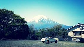 富士山世界遗产名录 库存图片