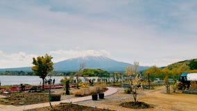 富士山世界遗产名录 免版税库存照片