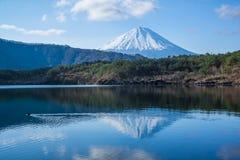 富士山反射 库存照片