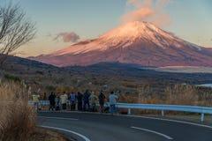 富士山和Yamanakako湖 库存图片