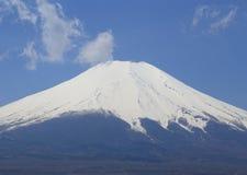 富士山峰顶  库存图片