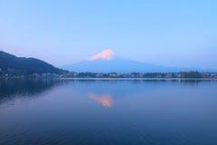 富士山日出 库存图片