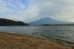 富士山&湖Kawaguchiko 免版税库存照片