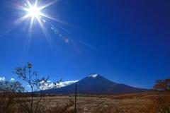 富士日本挂接 免版税图库摄影