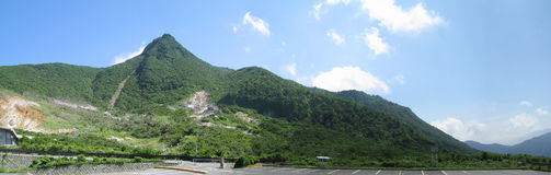 富士箱根日本公园顶层 免版税库存照片