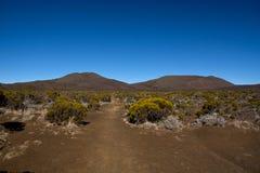 富尔奈斯火山的看法 图库摄影