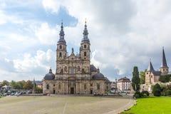 富尔达大教堂 库存图片