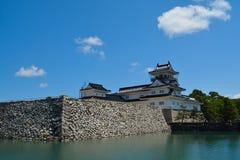 富山城堡在富山市 库存图片