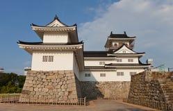 富山城堡在富山,日本 库存照片