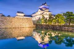 富山城堡,日本 图库摄影