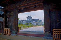富山城堡#3 免版税库存照片