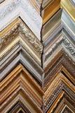 富有地装饰的几个框架 库存照片