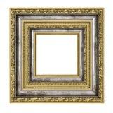 富有地装饰的框架 免版税库存图片