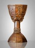 富有地装饰的酒杯 免版税库存照片