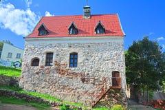 富有的公民的议院市民的庄园的在维堡,俄罗斯 库存图片