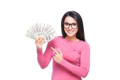富有的妇女 免版税图库摄影