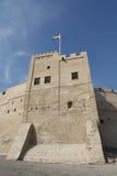 富查伊拉历史的堡垒,阿拉伯联合酋长国 图库摄影