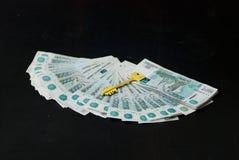 财富的关键字 免版税库存图片