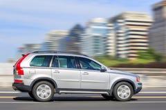 富豪集团在路的SUV XC60,北京,中国 免版税库存图片