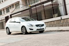 富豪集团V60 T5 Wagen 免版税图库摄影
