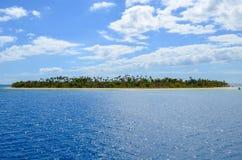 富饶海岛, Mamanucas,斐济 免版税图库摄影