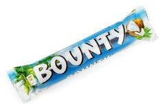 富饶糖果巧克力块 库存照片