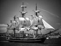 富饶航行在哈利法克斯港口 免版税库存图片