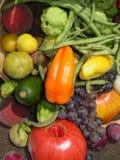 富饶蔬菜 免版税图库摄影
