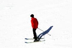 寒假在阿尔卑斯 库存图片