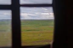 寒带草原的看法 库存图片