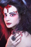 黑寡妇 图库摄影