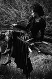 黑寡妇 免版税图库摄影